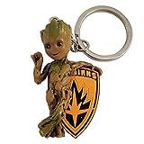 SEMIC Llavero Baby Groot Marvel (ref. SMKGROO), multicolor, 5,5 x 4,5 x 0,5