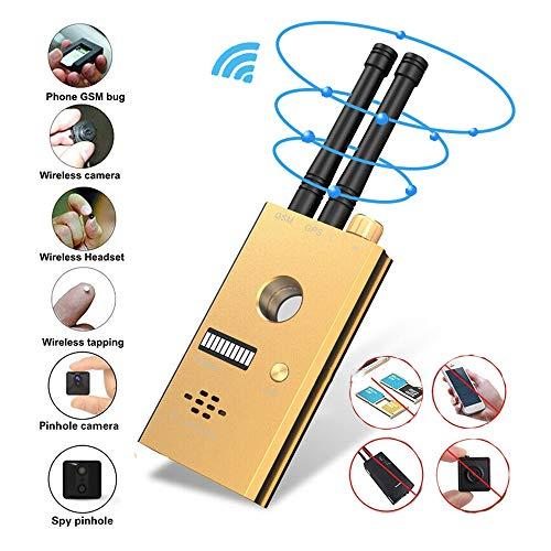 Wzz Bug Detector por Radiofrecuencia Anti-Espía De La Señal Inalámbrica Cámara Oculta Pinhole Lente Láser gsm GPS Tracker Dispositivo De Portátil Escáner Alarma