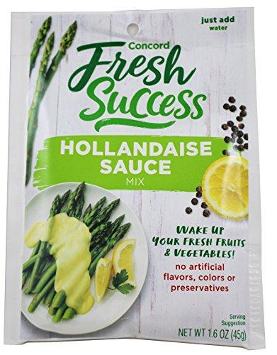 Fresh Success Hollandaise Sauce Mix, 1.6 oz (Pack of 3)