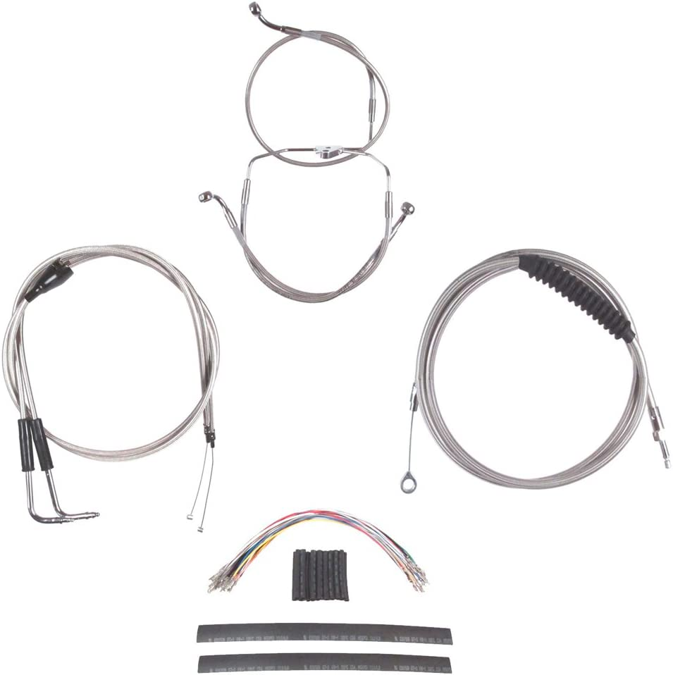 Hill Country Sale Customs Complete Stainless Cable Brake Line for Kit Max 58% OFF