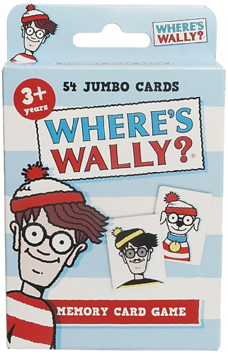 4015 Where's Wally Card Game