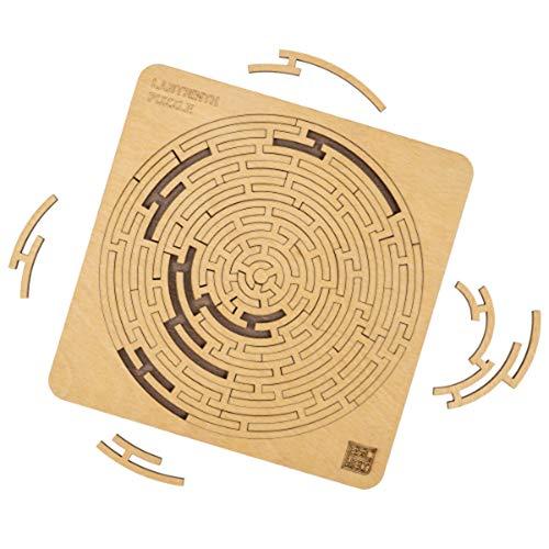 ESC WELT Labyrinth Puzzle Rätselpuzzle und Rätselspiele für Geburtstag und Spaß mit Freunden
