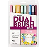 Tombow Pen Cottage Dual Brush Markers, 10-Pack, 10 Piece