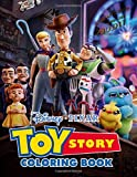 Toy Story Coloring Book: Great Gift For Kids Ages 4-8 With High Quality Toys Story Images