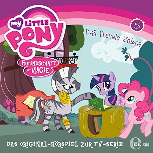 Das fremde Zebra / Fürchterlich niedliche Tierchen. Das Original-Hörspiel zur TV-Serie Titelbild