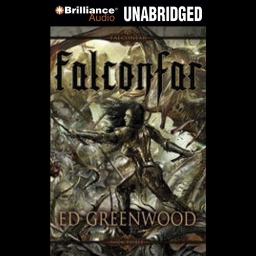 Falconfar audiobook cover art