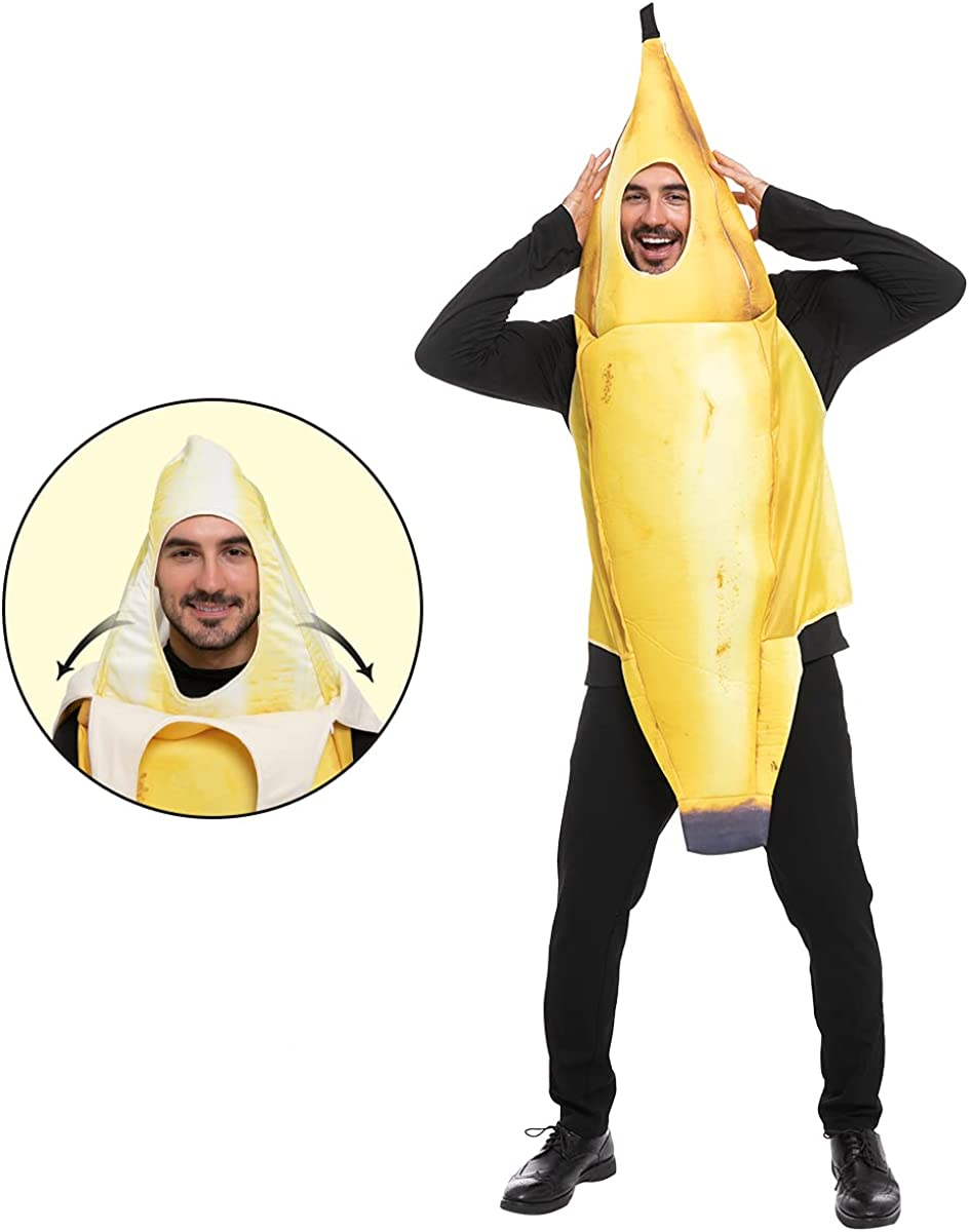 Spooktacular Creations Realistic Manufacturer direct delivery Banana Hallow Costume Adult mart for