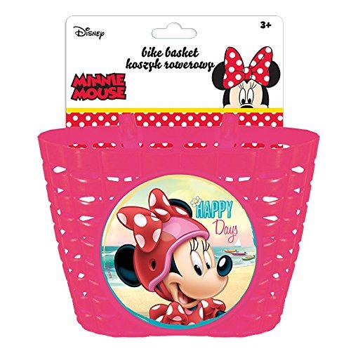 Disney Mädchen Minnie Mouse Fahrradkorb, Mehrfarbig, S