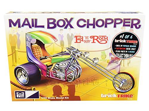 New Skill 2 Model Kit Mail Box Chopper Trike (Ed Big Daddy Roth