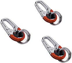 Keychain keychain hook Outdoor stainless steel buckle carabiner climbing for home, mobile home, camping, fishing, hiking, ...