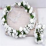 Zoom IMG-2 dressfan ghirlanda di fiorifascia per
