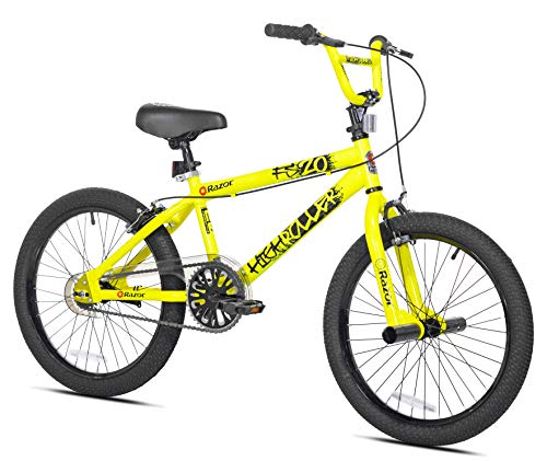Razor High Roller BMX/Freestyle Bike (20-Inch Wheel), Yellow