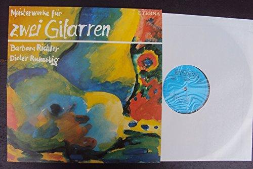 Meisterwerke für zwei Gitarren. Barbara Richter, Dieter Rumstig. Stereo