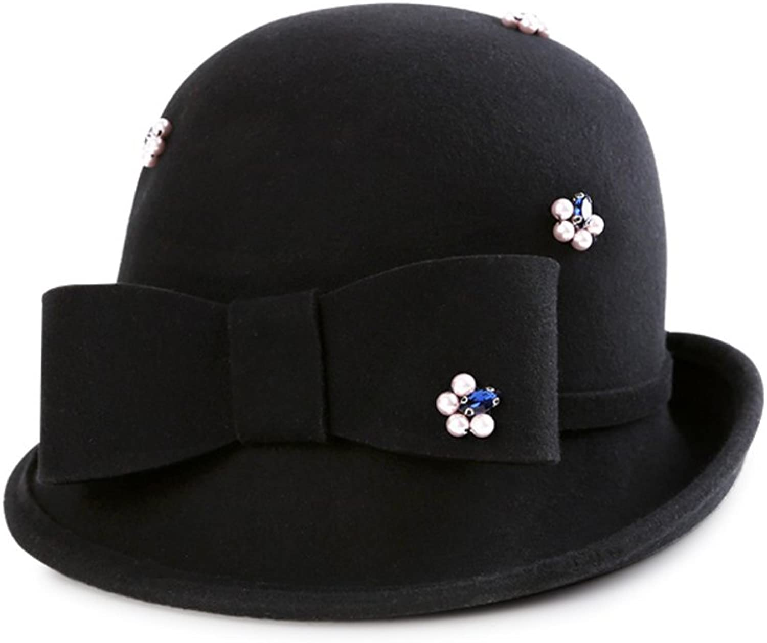 KYWBD Women's Fedora Has,Bowler Hat Basin Has