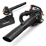 FUXTEC Profi petrol fan FX-LBS126P fan blade chopper 3in1 function incl. Blowpipe, 2tlg intake pipe + fangpack, anti-vibration function - by motor decoupled from handle