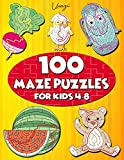 100 Maze Puzzles for Kids 4-8: Maze Activity Book for Kids. Great for Developing Problem Solving Skills, Spatial Awareness, and Critical Thinking Skills. (Books For Kids)