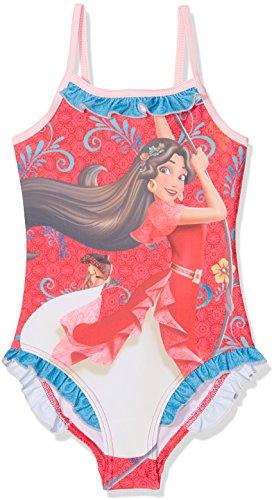 Disney Mädchen Elena of Avalor Badeanzug, Rose, 5 Jahre