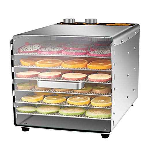 Sale!! Food Dehydrator Machine,Adjustable Timer and Temperature Control,for Jerky,Fruit,Vegetables&N...