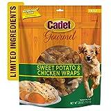 Cadet Gourmet Sweet Potato & Chicken Wrapped Dog Treats 28 oz.
