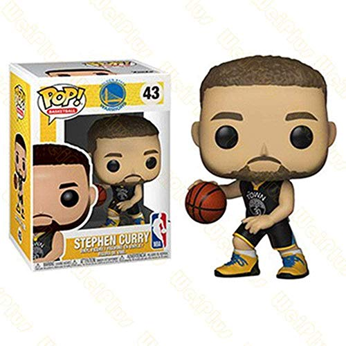 LiQi Funko Pop NBA Basketball Star Adornos Muñeca-Curry # 43