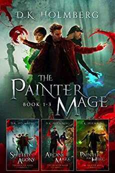 The Painter Mage: Books 1-3 by [D.K. Holmberg]