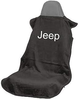 Seat Armour SA100JEPB Black 'Jeep' Seat Protector Towel
