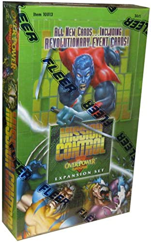 Overpower Trading Card Game Marvel Mission Control Booster Box 36 Packs [Toy]