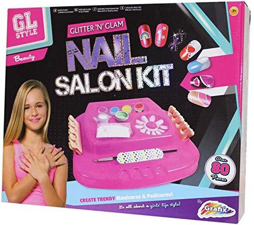 GL Style Glitter 'N' Glam Nagelsalon-Set, 3+, Pink