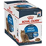 Royal Canin Comida para gatos Ultra Light, pack de 12