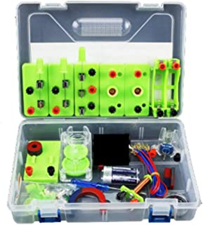 STEM Physics Basic Circuit Learning Starter Kit Electricity and Magnetism Experiment for Kids School Students