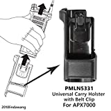 VBLL PMLN5331 PMLN5331A Universal Carry Holder Case with 3' belt clip for Motorola APX7000 Portable Radio