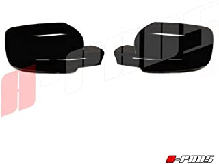 A-PADS Compatible with Dodge Ram 1500 2009 2010 11 12 2013 2014 2015 Black Gloss 2 Full Mirror Covers