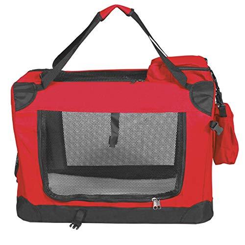 Elightry Transportin para Perro Gatos Mascotas Plegable Bolsa de Transporte Viaje para Perros Rojo M 60x42x42cm YDNGL0002rt