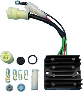Tuzliufi Replace Voltage Regulator Rectifier Yamaha Outboard 115 130 150 175 200 225 TJR TLR TRR TRS TXR ETL B C D E L O S V ETX 25 in. 200HP HP Pro-V 6R3-81960-10-00 6R3-81960-00-00 1991-2006 Z363