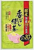 松寿園 国産 香ばし緑茶 ティーバッグ 5gX30