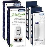 Kit de nettoyage DeLonghi - Détartrant SER 3018 de 500 ml et filtre à eau SER 3017