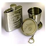 Jack Daniel' s fiaschetta con bicchiere telescopico
