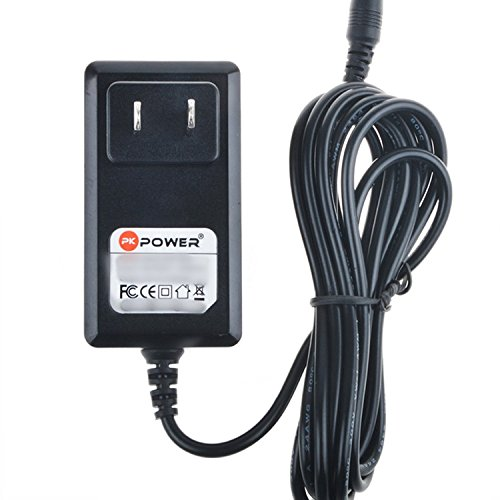 PKPOWER 6.6FT Cable AC/DC Adapter for Chicago Electric Power Systems 3 in 1 Jump Start Air Compressor Power Supply 08884 Jump Starter Recharge Power Supply Cord Cable Battery Charger PSU