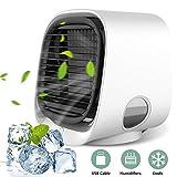 Mobile Klimageräte, YOMERA Mini Persönliche Klimaanlage 3 in 1 Luftkühler USB Lufterfrischer mit...
