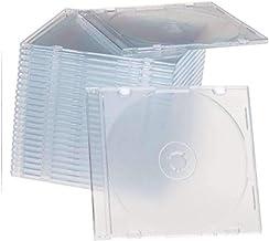 Maxtek فوق العاده نازک 5.2mm CD جواهر پاک و باریک ساخته شده در Frost Clear سینی ، 100 بسته.
