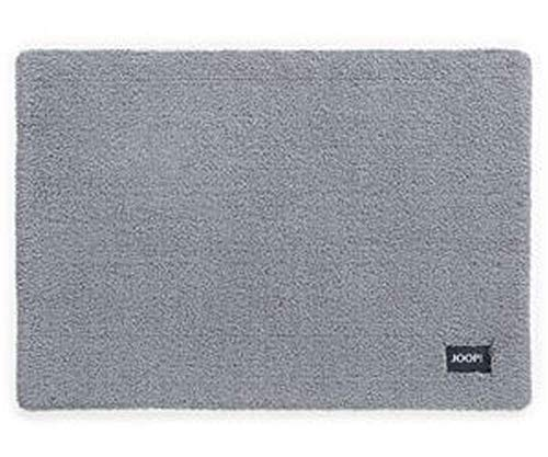 Joop! Basic Badteppich 70x120 cm Farbe Silber 100% Polyamid Florhöhe 20 mm Form...