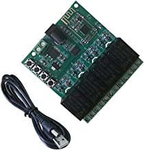 DSD TECH 4 Channels Bluetooth Relay Module for Remote Control Switch Compatible with iPhone and Android 4.3 (12V)