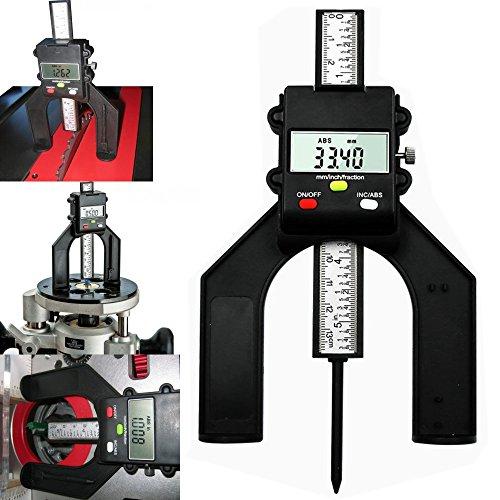 Jauge de profondeur numérique 0-80 mm Pied à coulisse magnétique