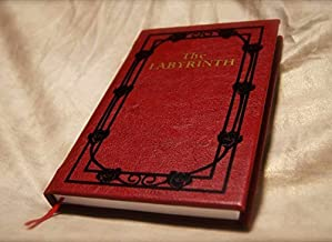 The Labyrinth Sarah's Book - A Leatherbound Book Movie Replica Novelization Collector's Edition