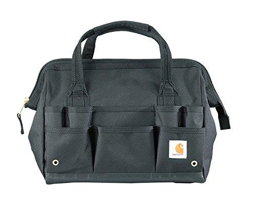 "Carhartt Gear 390105B Heritage 14"" Tool Bag - One Size Fits All - Black"