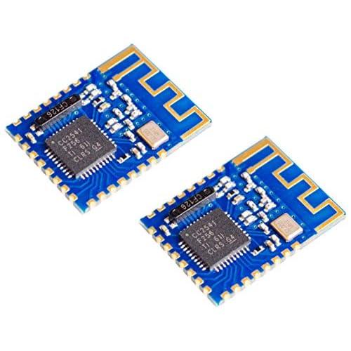 TECNOIOT 2pcs JDY-08 BLE Bluetooth 4.0 Uart Transceiver Module CC2541 Wireless iBeacon