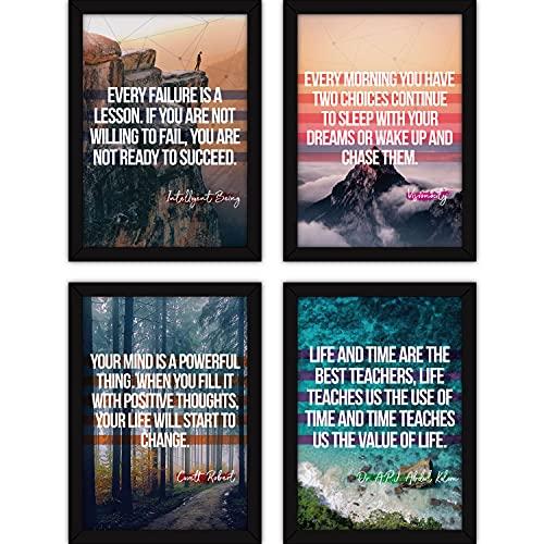 FATMUG Polyresin Quote Wall Paintings , Multicolour, Digital Art, A4