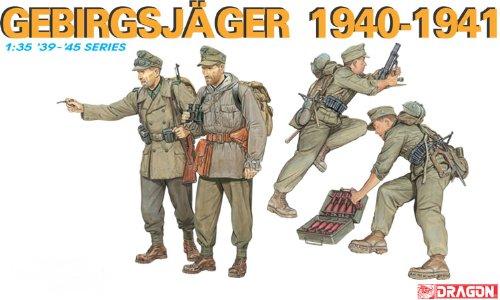 Dragon - D6345 - Maquette - Chasseurs Alpins Allemands - Echelle 1:35