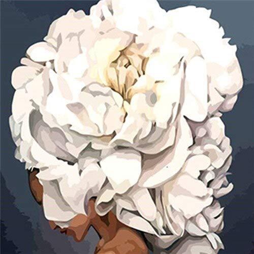 5d bricolage diamant peinture rose carré diamant broderie mosaïque fleur à la main maison diamant peinture A3 50x70 cm