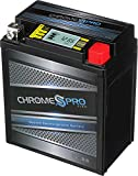 Chrome Pro YTX7L-BS High Performance - Maintenance Free - Sealed iGel Motorcycle Battery
